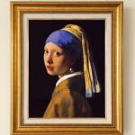 フェルメール『真珠の耳飾りの少女(青いターバンの少女)』