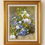 ピエール=オーギュスト・ルノアール 『春のブーケ(春の花)』