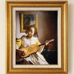 ヨハネス・フェルメール 『ギター奏者』