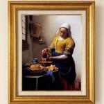 ヨハネス・フェルメール 『ミルクを注ぐ女性』