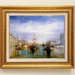 ジョセフ・マロード・ウィリアム・ターナー 『ベニスの大運河』
