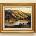 ヤン・シベレツヒ 『広がる川の風景』