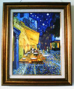 ゴッホ 夜のカフェテラス 油絵